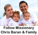 Follow Missionary Chris Baran