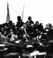 Only Known Photo Of President Lincoln at Gettysburg